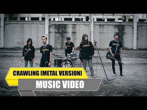 Aoi - Crawling (Feat. Vio) (Metal Version) [Official Music Video]