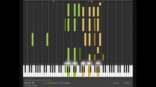 Clannad - Nagisa Warm Piano Arrange   Piano Tutorial, 渚~坂の下の別れ