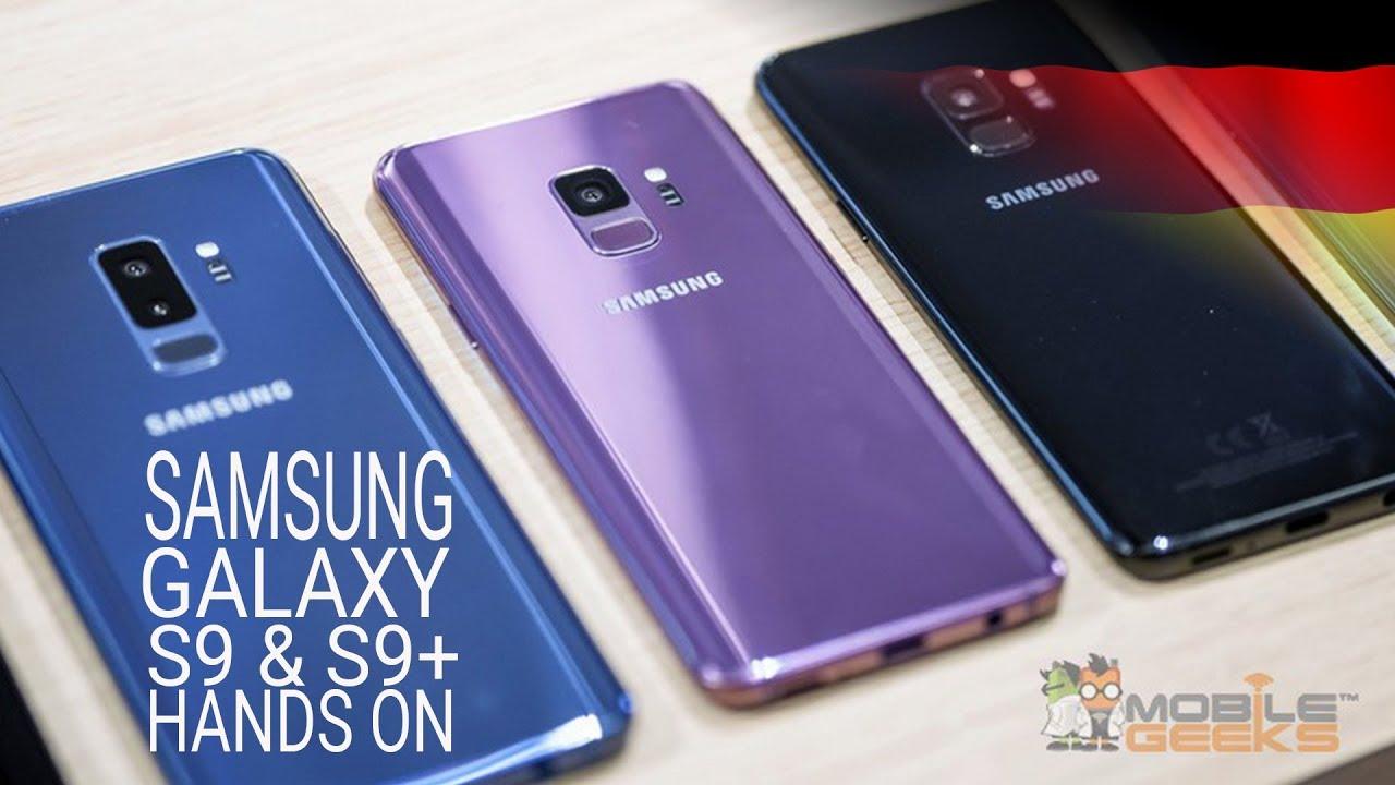 Samsung S9 Farben