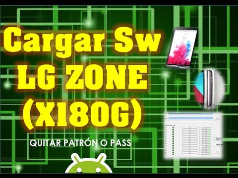 Cargar Software LG X180G, Desbrickear o quitar Patrón a LG TELCEL