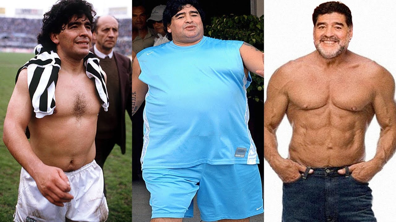 Diego Maradona Transformation 2018 | From 1 To 57 Years Old