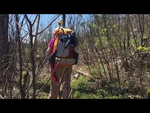 Backpacking Eagle Rock Loop, Arkansas. April 7-9, 2017