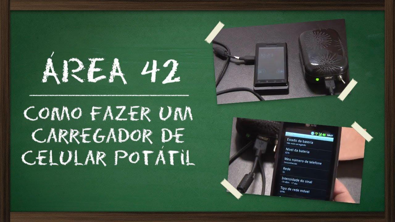 cb8ba6ea25a Como fazer um carregador de celular portátil  Área 42  - Tecmundo ...