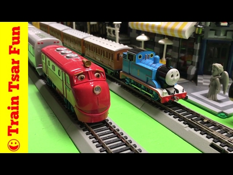 Modelling Railroad Train Track Plans -Thomas vs Wilson | Chuggington vs Sodor Trains – Bachmann HO Scale