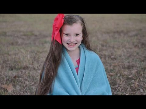 9-Year-Old Girl Wants to Collect 350 Blankets To Keep Kids Warm This Winter