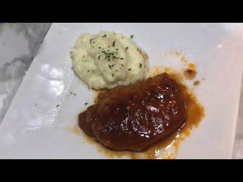 EASY CROCKPOT DINNER:: BBQ PORK CHOPS