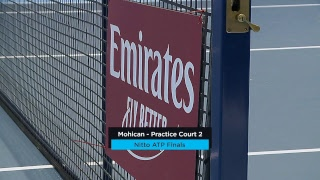 2018 Nitto ATP Finals: Live Stream Practice Court 2
