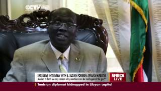 Exclusive Interview with South Sudan
