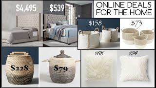 How I Shop For Bargain Furniture & Decor Online | Design Time