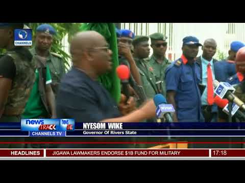 Fayose PDP Leaders Commission First Flyover In Ekiti