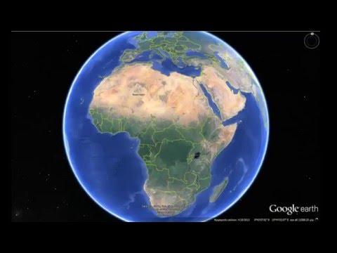 Google Earth: Sights in Africa (Τα Αξιοθέατα της Αφρικής)
