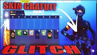 Glitch!!! FREE SKINS OF BATTLE PASS S3 FORTNITE BATTLE ROYALE