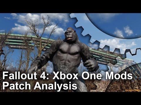 Digital Foundry vs Fallout 4 mods on Xbox One • Eurogamer net