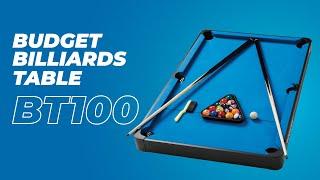 Budget BilliardsTable Review of BT100 Billiards Table