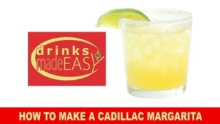 How To Make A Cadillac Margarita-drinks Made Easy