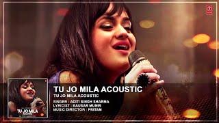 Tu Jo Mila Full Video Song I Acoustics I Aditi Singh Sharma | तू जो मिला | new  Hindi song 2020 |