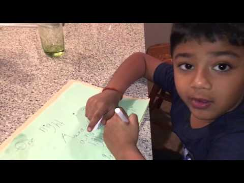 Nihal writes a story