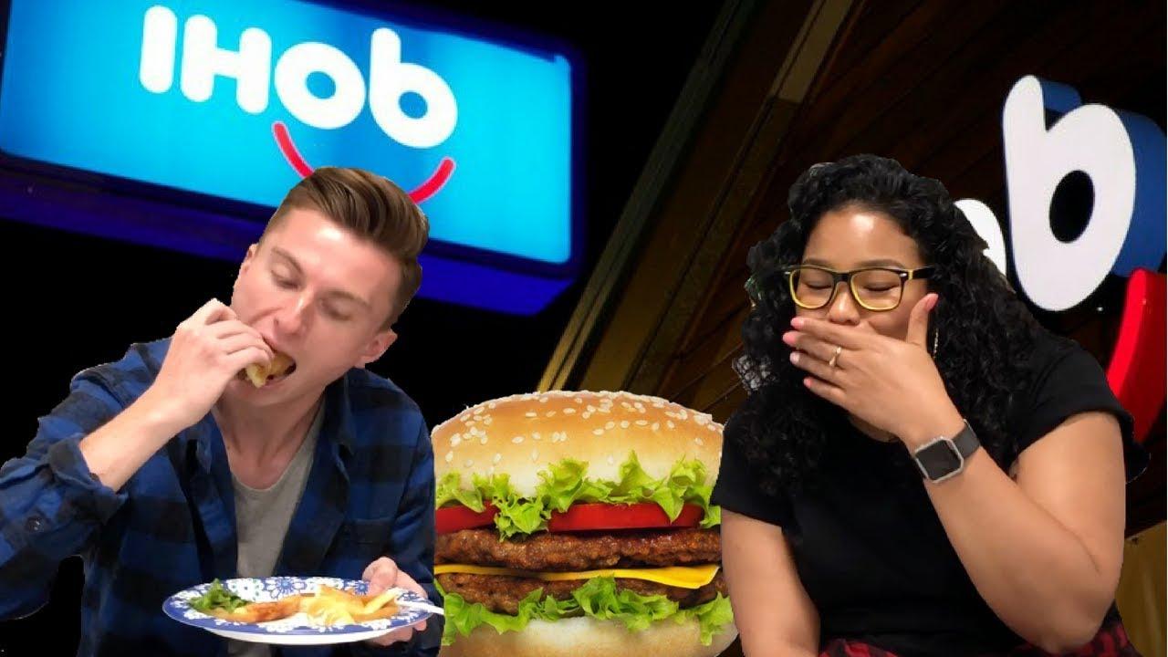 trying-ihob-ihop-s-new-burger-reaction