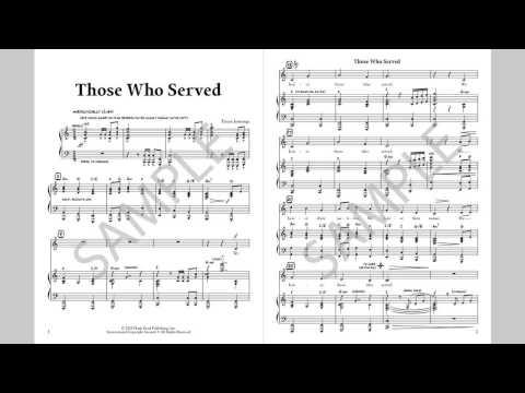 Those Who Served - MusicK8.com Singles Reproducible Kit