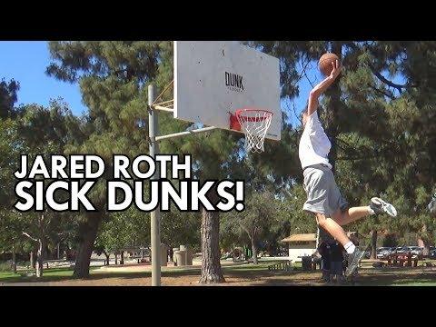 "6'3"" Jared Roth DUNKS are INSANE! 2018's Star Dunker!"