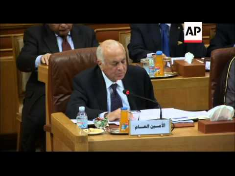 Arab League FMs hold emergency meeting to discuss Syria