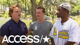 The Cast Of 'The Sandlot' Talks Dating, Emotional Fan Interactions & A Potential Sequel | Access