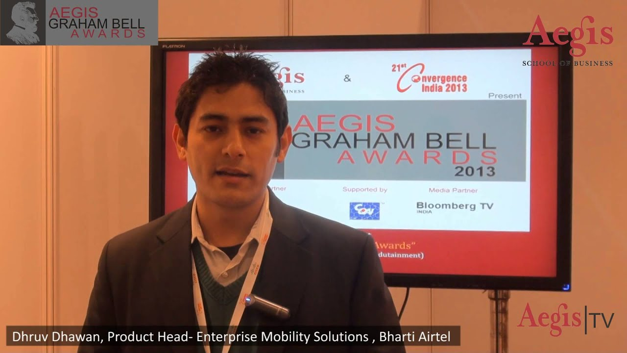 Mr. Dhruv Dhawan, Product Head, Bharti Airtel at 1st Jury ...