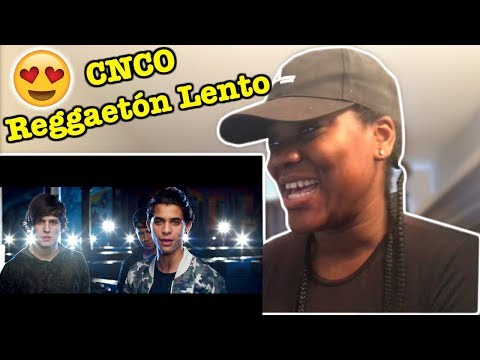 CNCO - Reggaetón Lento (Bailemos) REACTION!!!