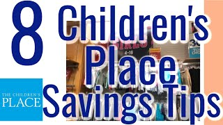 How To Save At The Children's Place Clothing Store | Save Big On Children'S Clothing 2019