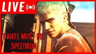 #DANTE MUST DIE #SPEEDRUN #DmC: DEVIL MAY CRY DE 1:40:36 RECORDE MUNDIAL WR