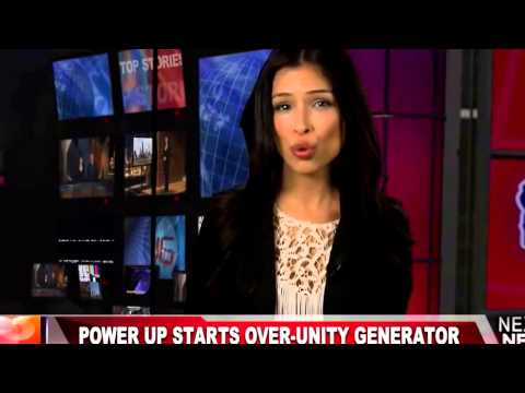 Power Up Starts Over-Unity Generator