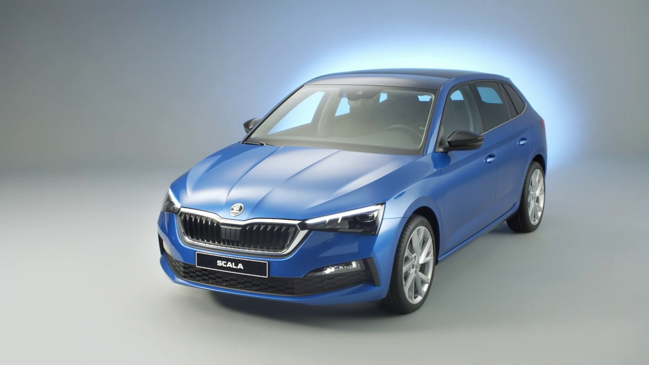 2019 Skoda Scala video debut - YouTube