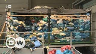 Bağışlanan giysilerin yüzde 90'ı satılıyor - DW Türkçe