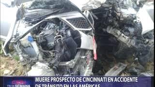 Muere prospecto de Cincinnati en accidente de tránsito en las Américas
