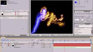 Готовая композиция в Adobe After Effects