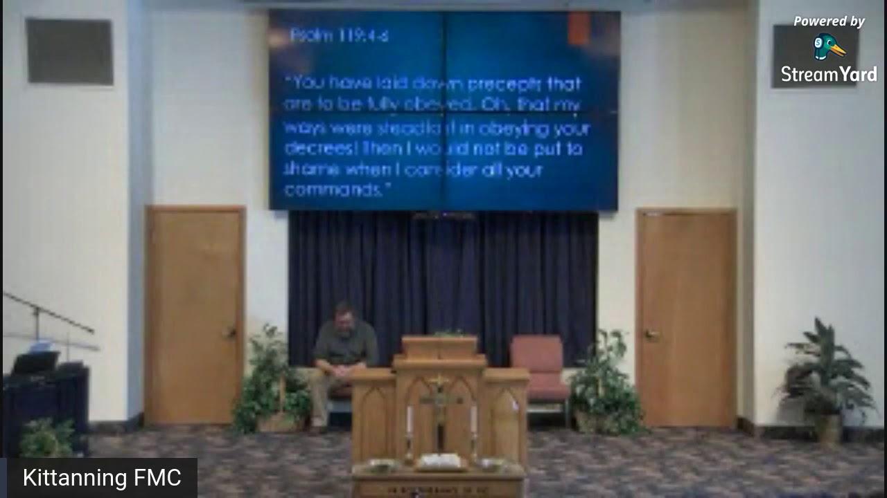 Worship Service 2-21-2021
