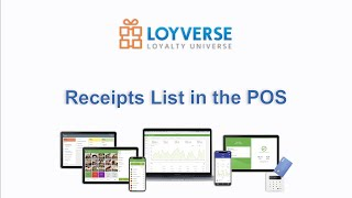 You can go to the receipts list by tapping 'receipts' button in pos menu https://help.loyverse.com/help/receipts-list-pos