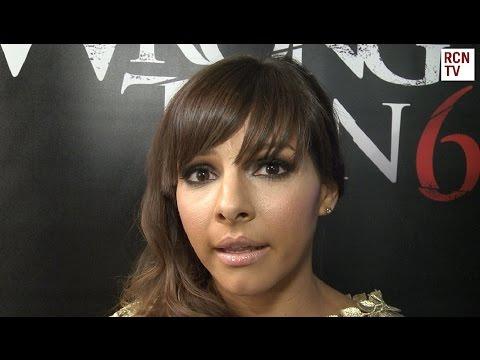 Roxanne Pallett Interview Wrong Turn 6 Premiere