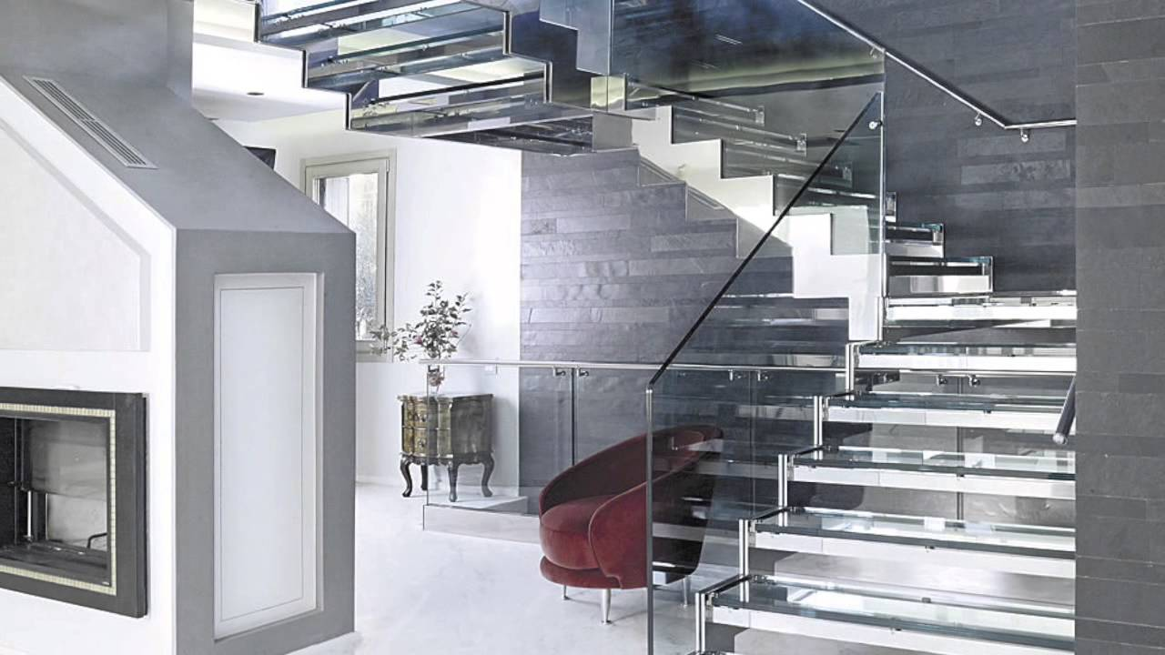 Escaleras de dise o ideas para tu hogar youtube for Escaleras modernas interiores de concreto