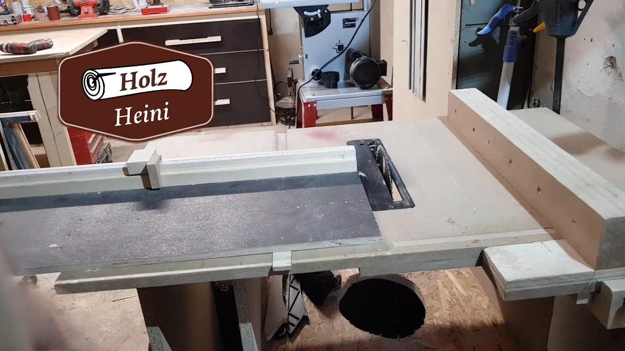 tischkreissäge selber bauen - meine selbstgebaute tischkreissäge