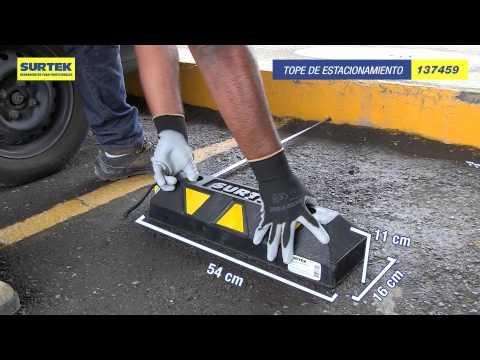 Topes para estacionamiento Surtek URREA México thumbnail