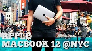 Apple Macbook 12 - испытание Нью-Йорком