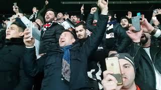 Beşiktaş galatasaray maç sonu yüksek yüksek tepelere