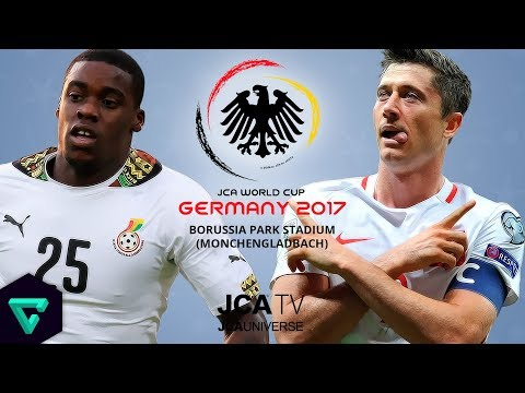 Ghana vs. Poland | Group E | 2017 JCA World Cup Germany | PES 2017