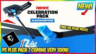 FORTNITE: *NEW* FREE PS PLUS PACK 7 COMING SOON! | Pack Info, Release Date | Fortnite Season 10 News