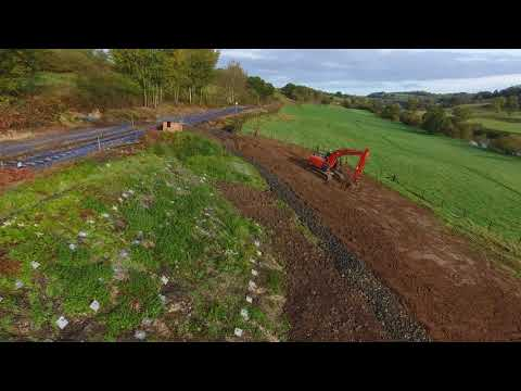 County Boundary repair October 2017