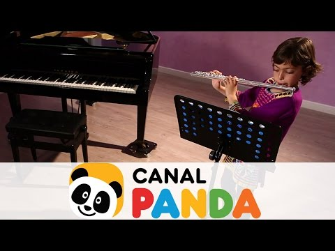 La flauta travesera. Niños músicos