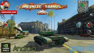 INFINITE TANKS _Game Android HD|testing Redmi 3s prime