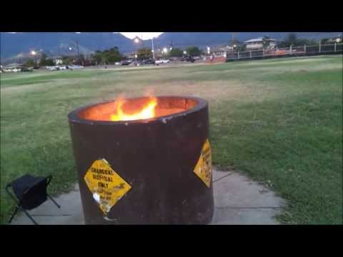 Hawaiian Bonfire, Sun Set at the Beach! Nice View