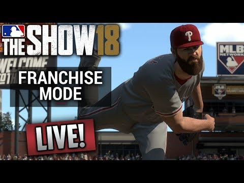 🔴 Phillies Franchise Live! (MLB The Show 18) Road to 50k!